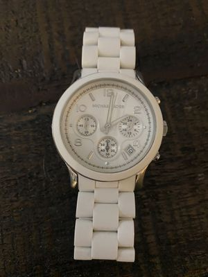 Michael Kors White Watch for Sale in Jacksonville, FL