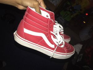 RED VANS for Sale in Jackson, MS