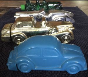 Old Avon Glass Collectible Cars/Bug/Beetle/VW/Antique Cars for Sale in Greer, SC