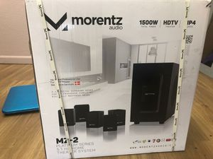 Morentz M7-2 Platinum Series 5.1 Home Theatre System for Sale in Guadalupe, AZ
