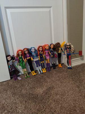 10 DC Super Hero Girls dolls for Sale in Mesa, AZ