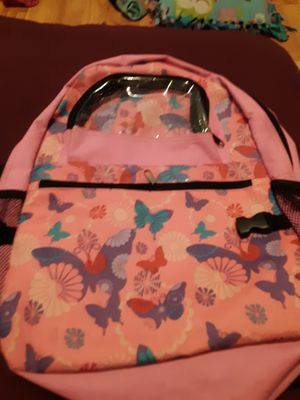 Pink butterfly backpack for Sale in Lacey, WA