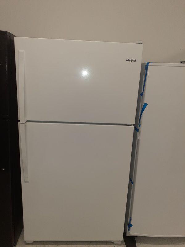 🔥🔥New whirlpool refrigerator top bottom 6 months warranty 🔥🔥