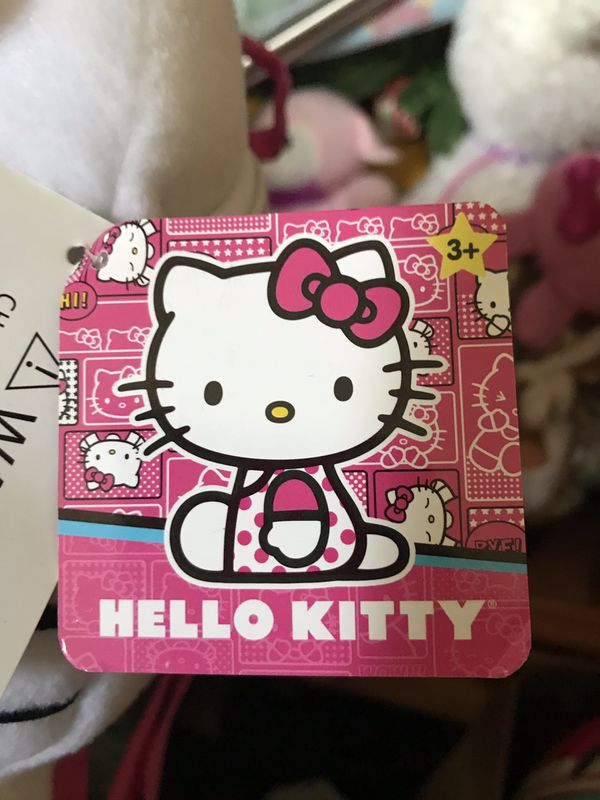 Hello kitty new backpack