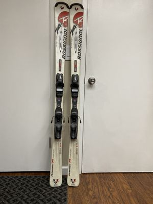156cm Rossignal 74 auto turn skis professionally hand sharpened and waxed for Sale in Fremont, CA