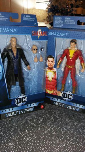 Shazam & Dr. Sivana Action figures for Sale in San Antonio, TX
