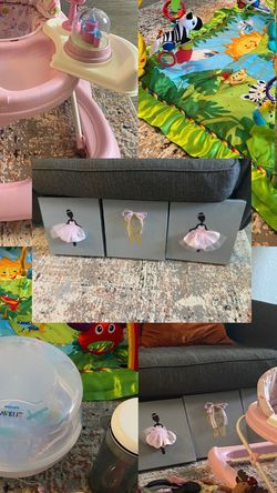 Baby Stuff ( Baby Walker , Baby Gym) for Sale in Fort Myers,  FL