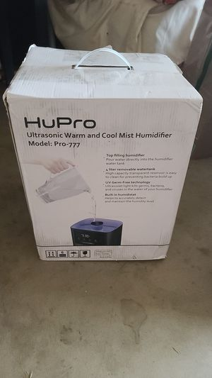 hupro humidifier for Sale in San Diego, CA