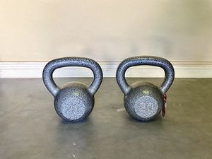 Kettlebell weights (20 and 35 pounds) New! for Sale in Phoenix, AZ