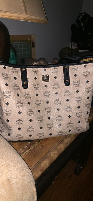 AUTHENTIC MCM TOTE BAG for Sale in Roselle, NJ