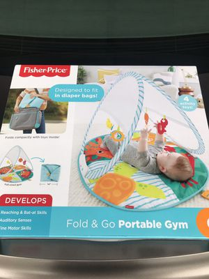 Fisher Price Fold & Go Potable Gym for Sale in Murfreesboro, TN