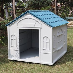 $85 (brand new) medium size plastic dog house 39x33x32 inches for Sale in Whittier, CA