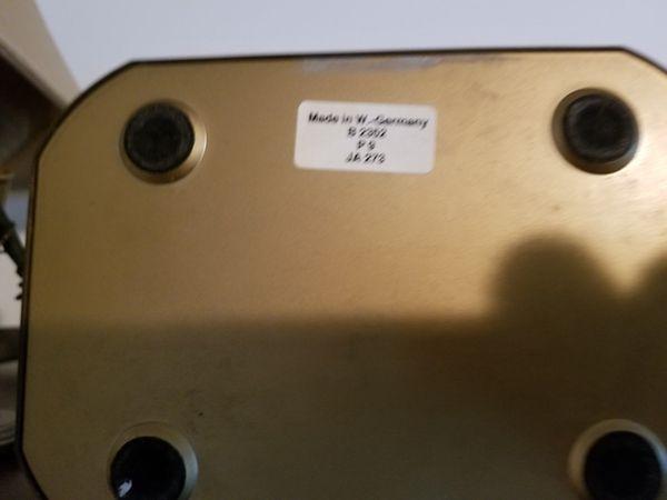 Bulova Brass Antique Analog Clock