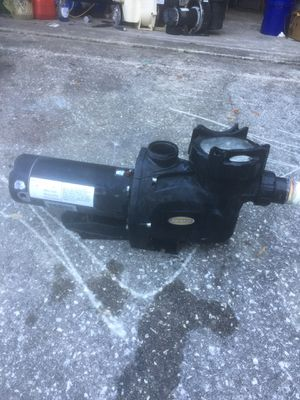 Pump for pools for Sale in TEMPLE TERR, FL
