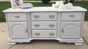 Shabby Dresser/Buffet/Baby Changing Table/Entertainment Console for Sale in Bloomingdale, IL