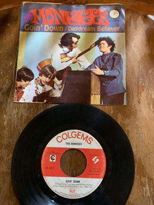 Monkees 45 vinyl clean for Sale in Mishawaka, IN
