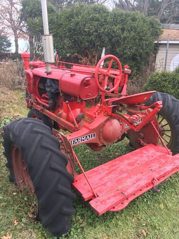 1929-34 Farm All Tractor(To be refurbished in summer)