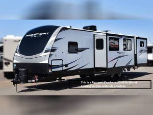 2019 Passport Keystone RV Travel Trailer 1.5 bath 37' 3351BH UltraLite for Sale in Third Lake, IL