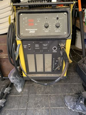 Esab multimaster 260 welder for Sale in Discovery Bay, CA