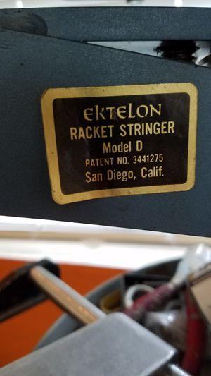 Ektelon tennis racket stringer for Sale in Seattle, WA