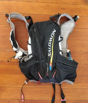 Salomon Advanced Skin S-Lab 12-Set Ultrarunning Backpack Hydration Running Pack M/L for Sale in San Diego, CA