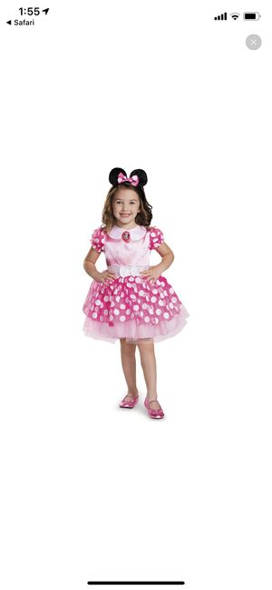 Minnie Mouse Costume 2 Years Old Girl for Sale in Westminster, CA