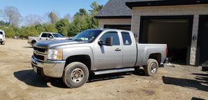 2008 chevy silverado 2500hd duramax diesel with plow for Sale in Hanson, MA