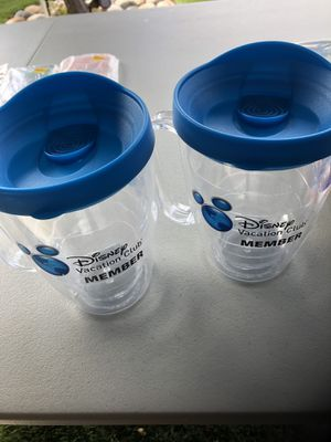 """New Acrylic Mugs w/ """"Disney Vacation Club """" for Sale in Castro Valley, CA"""