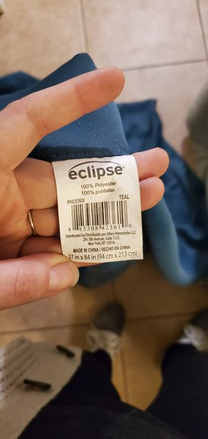 Eclipse heat protecting curtains for Sale in Clovis, CA