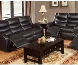 $1,499 Invest in a beautiful and durable seating area for you and your family with this over-sized 3-piece motion sofa set. It features seating cover for Sale in Chino, CA