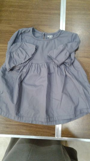Girls Carter's purple shirt with bell sleeves size 4/5 for Sale in Lake Worth, FL