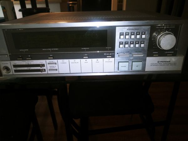 Pioneer computer controlled stereo