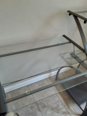 Glass desk for Sale in Arvada, CO