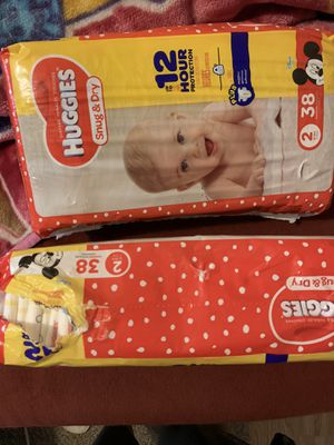 Huggies size 2 for Sale in Houston, TX