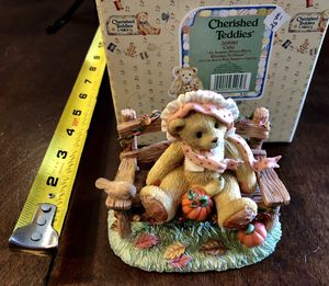 Cherished Teddies Cathy Autumn Figurine 269980 for Sale in Hemet, CA