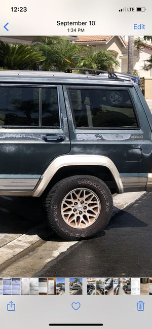 Jeep Cherokee stock wheel and tires all 4 for Sale in San Diego, CA