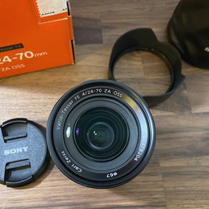 Sony 24-70 f4 Lens for Sale in Anaheim, CA