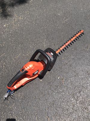 Electric Hedge Trimmer for Sale in Tewksbury, MA