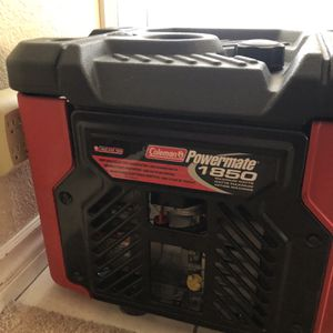 Coleman Powermate 1850 Generator Like New for Sale in Mission Viejo, CA