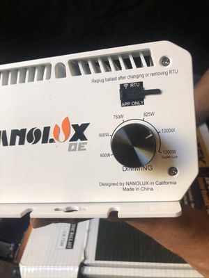 2 nanolux de ballast only for Sale in Littleton, CO