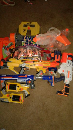 Nerf guns package deal for Sale in Walnut, CA