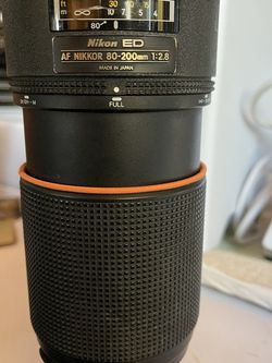 Nikon AF 80-200mm f/2.8 ED Lens for Sale in San Diego,  CA
