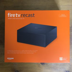 Amazon Fire TV Recast 500 gb - 2 Tuners - 75 Hours for Sale in Phoenix, AZ