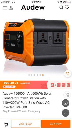 Audew Generator for Sale in Fort Lauderdale, FL