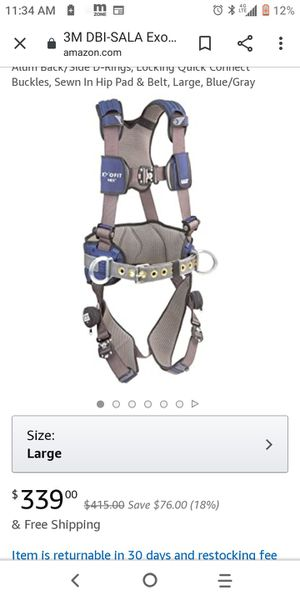Fall protection / tool bag harness for Sale in Phoenix, AZ
