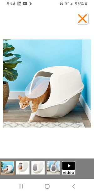 Brand New, Never Opened, Frisco Hooded Cat Litter Box, Gray, Extra Large, 26-in for Sale in High Point, NC