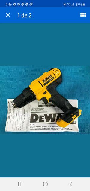 """New DeWalt DCD771 20V Max Li-Ion Cordless 1/2"""" 2-Speed Drill Driver for Sale in Dumfries, VA"""
