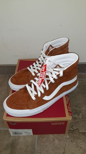 Brand New Vans Sk8 High Pig Suede- Size 11.5 for Sale in St. Cloud, FL
