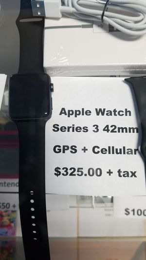 Apple watch series 3 42 mm gps and cellular for Sale in Philadelphia, PA