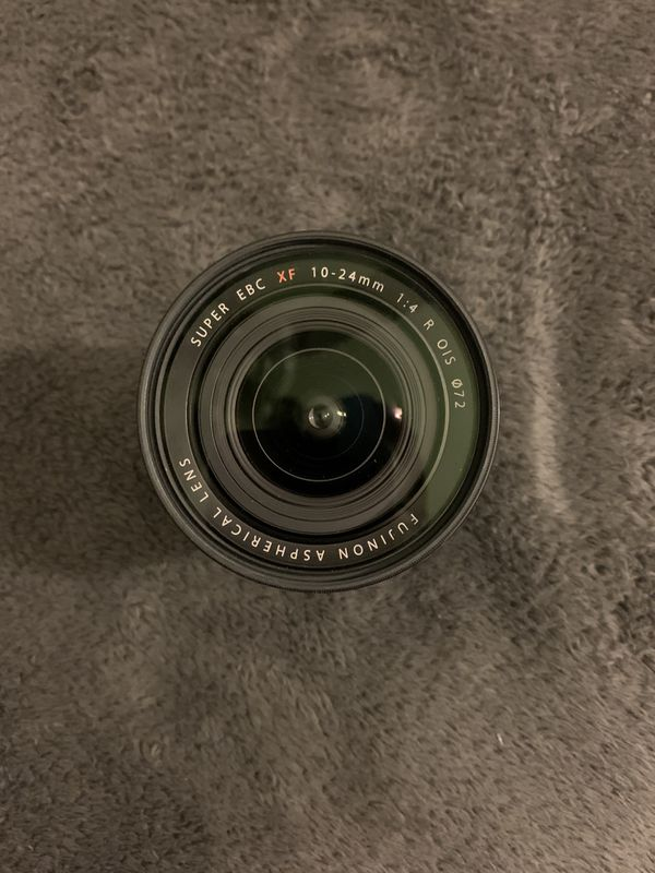 Fujinon 10-24mm f4 Fuji lens
